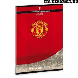 Manchester United kockás füzet A/5 méretben (négyzethálós)