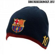 """FC Barcelona sapka """"Messi"""" változat - kötött FCB sapka"""