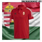 Adidas  Magyarország póló (galléros) - Hungary szurkolói ingnyakú póló (piros)