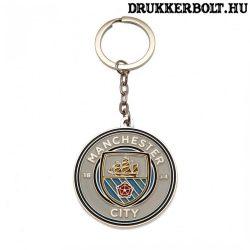 Manchester City kulcstartó (fém) - eredeti, hivatalos klubtermék