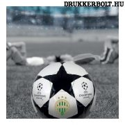 Ferencváros mini focilabda - 1-es méretű fehér Fradi labda