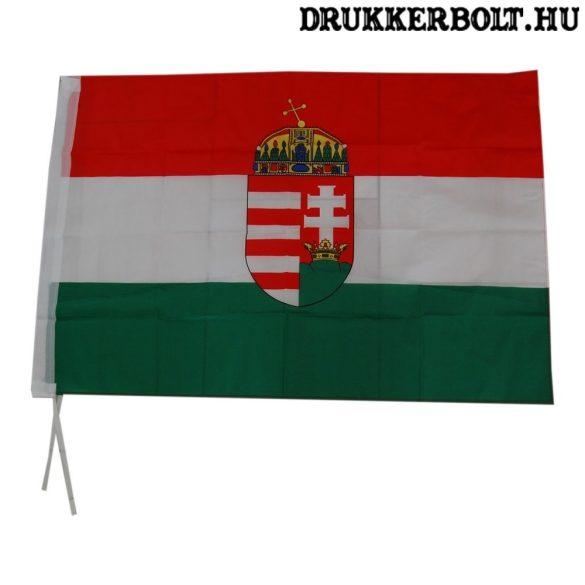 Magyarország zászló címerrel (több méretben) - magyar válogatott zászló