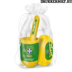 Brazil fürdőszobai szett / tisztasági csomag - Brazilia szurkolói termék