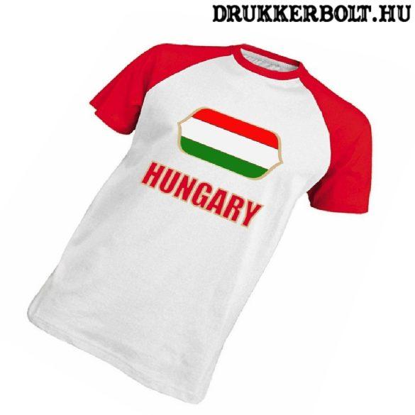 Magyar válogatott szurkolói póló - Hungary póló (pamut)