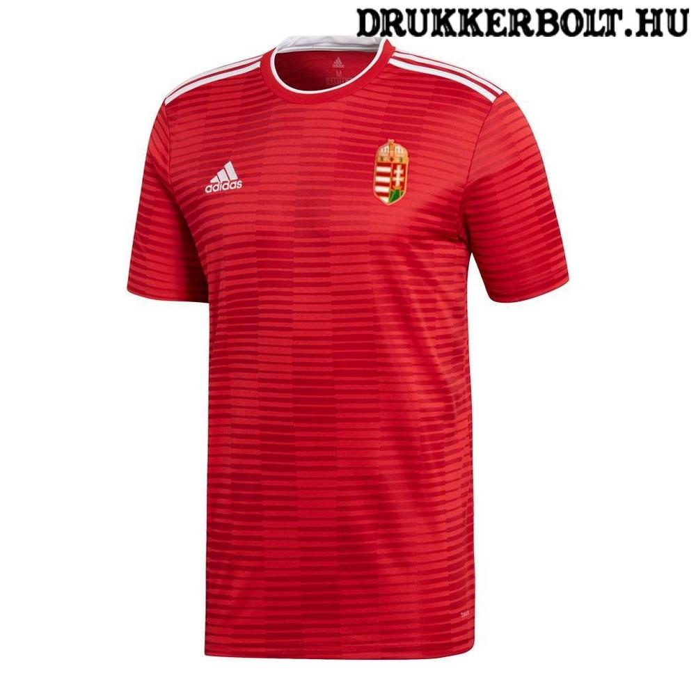 Adidas Magyar válogatott szurkolói mez - Adidas Magyarország mez hímzett  címerrel 71befee32b