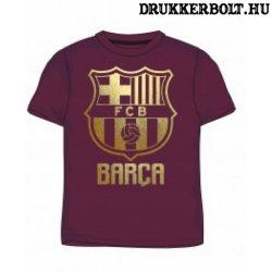 FC Barcelona póló (gránátvörös) - eredeti, liszenszelt klubtermék