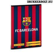 FC Barcelona kockás füzet A/5 méretben (négyzethálós)