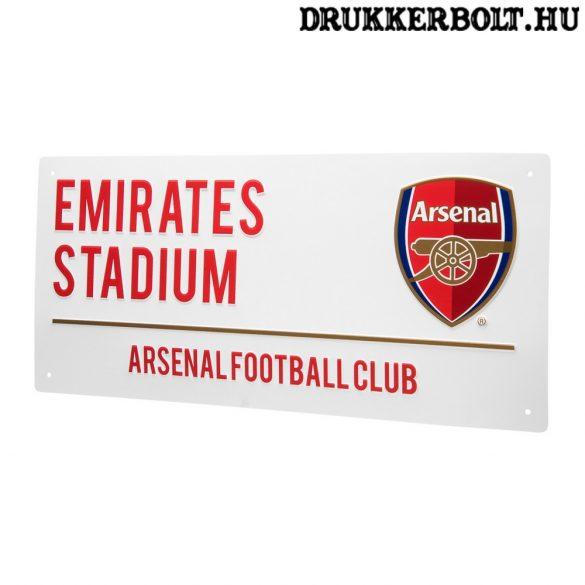 Arsenal FC utcatábla - eredeti, hivatalos klubtermék