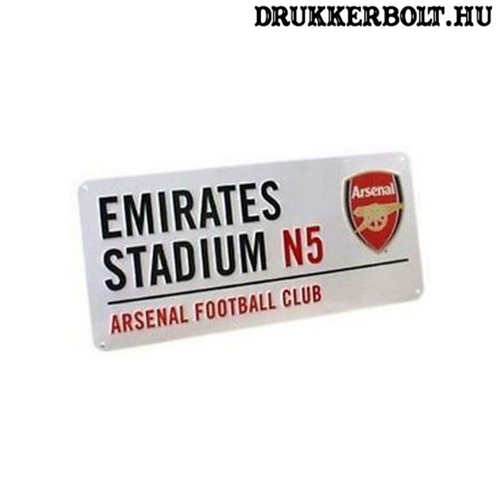 Arsenal FC utcatábla - eredeti 2e6af1891e