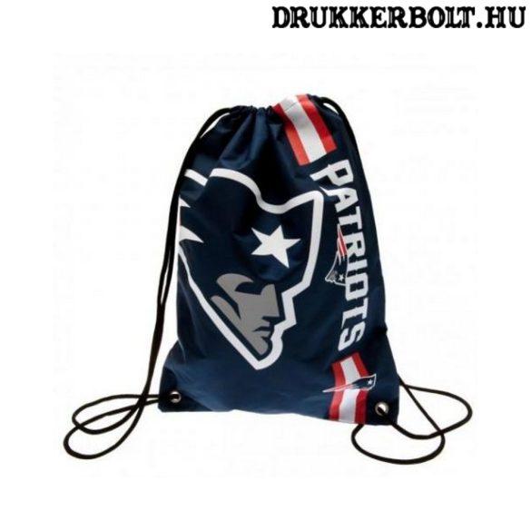 New England Patriots tornazsák / zsinórtáska - eredeti, hivatalos NFL klubtermék