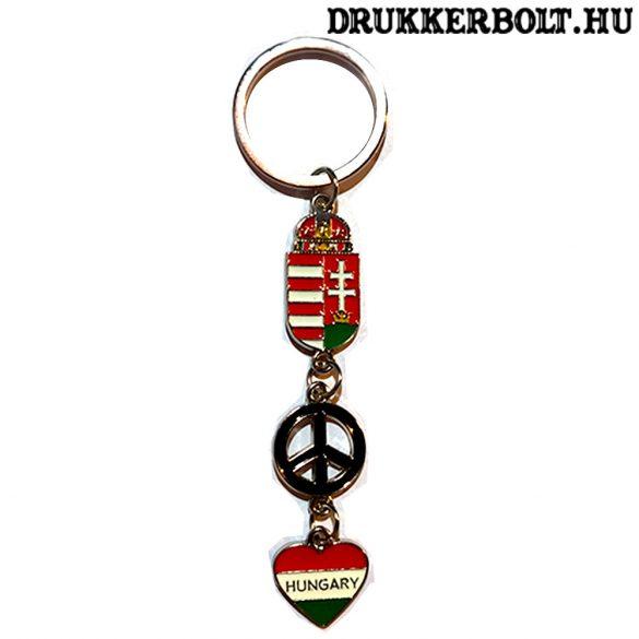 Magyarország címeres kulcstartó