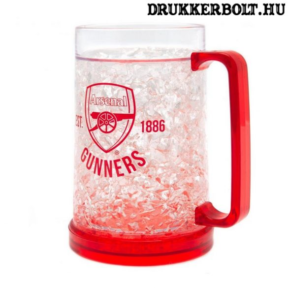Arsenal fagyasztható söröskorsó - eredeti klubtermék