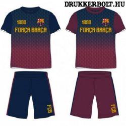 Fc Barcelona szurkolói gyerek mez szett - FC Barcelona mez és nadrág szett (több változatban)