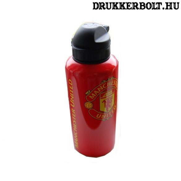Manchester United FC aluminium kulacs (hivatalos,hologramos klubtermék)
