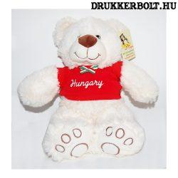 Magyar válogatott kabala maci - pihe-puha maci Hungary mezben (35 cm)