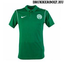 Nike Ferencváros galléros póló (fekete) - Fradi címeres galléros szurkolói póló