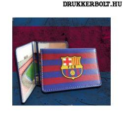 FC Barcelona igazolvány tartó (gránátvörös-kék)