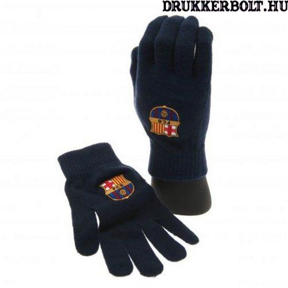 FC Barcelona kötött kesztyű - felnőtt és gyerek méretben is kapható!