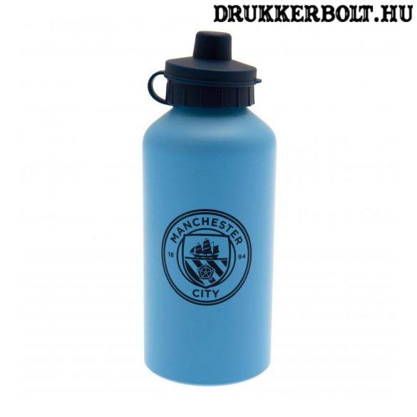 Manchester City FC aluminium kulacs / termosz (hivatalos, hologramos klubtermék)