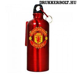 Manchester United Fc kulacs - alumínium kulacs MU címerrel és karabínerrel