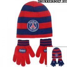 Paris Saint-Germain sapka és kesztyű (gyerek) - PSG szurkolói szett
