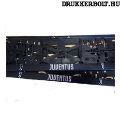 Juventus rendszámtábla tartó (2 db) - hivatalos, logózott klubtermék