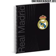 Real Madrid spirál füzet A/4 méretben (sima)
