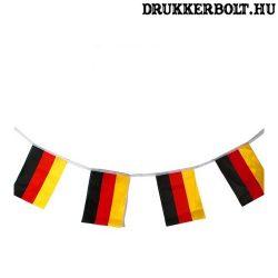 Német zászlófüzér / Németország girland (5 méteres)