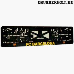 FC Barcelona rendszámtábla tartó (2 db) - hivatalos, logózott klubtermék