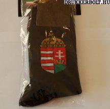 Magyarország címeres zokni  (fekete)