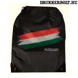 Magyarország tornazsák / zsinórtáska - hivatalos magyar szurkolói termék  (fekete)