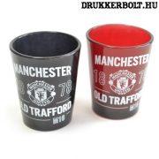 Manchester United felespohár szett -  Red Devils címerrel