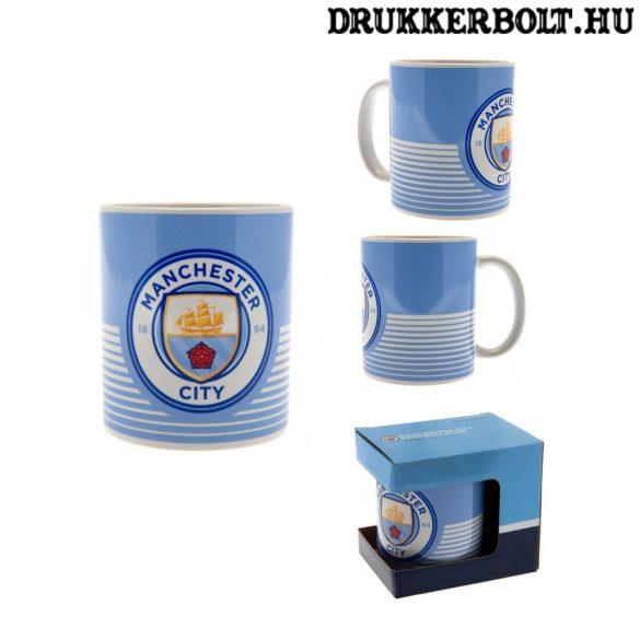 Manchester City Giant Football Mug - focimez alakú világoskék Man City bögre (nagyméretű)