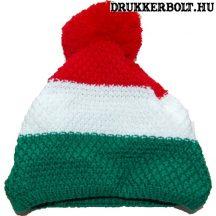 Magyarország bojtos sapka - hivatalos szurkolói kötött sapka (trikolor) Newsee