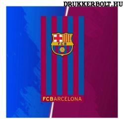"""Barcelona """"csíkos"""" törölköző - hivatalos, liszenszelt termék"""