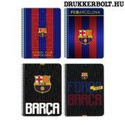 FC Barcelona spirál füzet A/5 méretben (kockás)