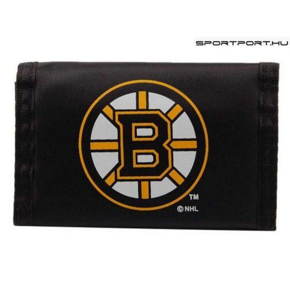 Boston Bruins pénztárca (eredeti, hivatalos NHL klubtermék)