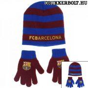FC Barcelona sapka és kesztyű (gyerek) - Barca szurkolói szett