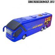 FC Barcelona csapatbusz - fém Barca modell busz (20 cm)