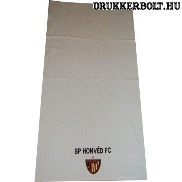 Budapest Honvéd fürdőlepedő / Kispest hímzett törölköző - hivatalos, eredeti Honvéd termék (140 x 70)