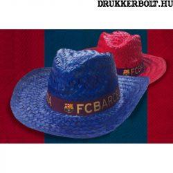FC Barcelona szalmakalap / Sombrero  - hivatalos FCB klubtermék