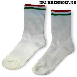 Magyarország zokni fehér színben, férfi méretben (többféle)