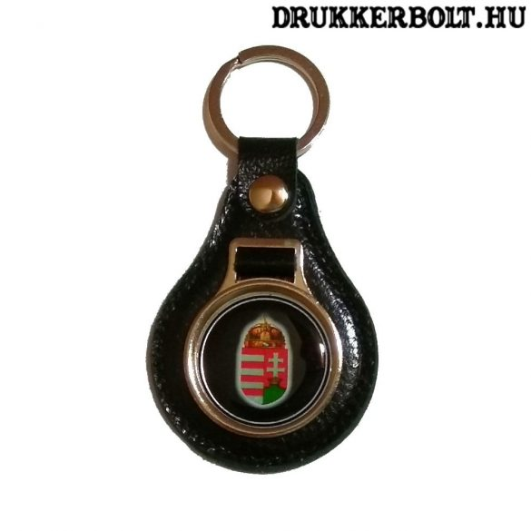 Magyar válogatott bőr kulcstartó (több színben)