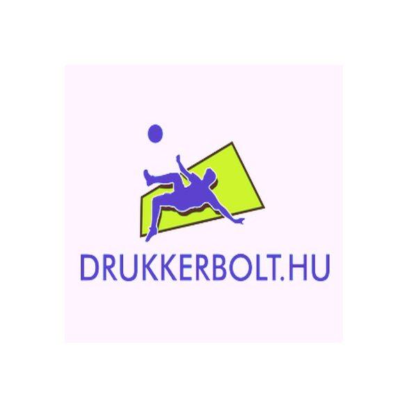 Hungary / Magyarország feliratos női póló - Magyarország szurkolói ingnyakú póló (fehér)
