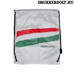 Magyarország tornazsák / zsinórtáska - hivatalos magyar szurkolói termék  (fehér)