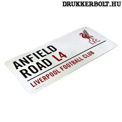 Liverpool FC utcatábla - eredeti Liverpool tábla