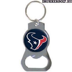 Houston Texans kulcstartó sörnyitóval / üvegnyitóval - eredeti NFL klubtermék!!