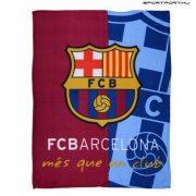 """FC Barcelona """"Iniesta"""" polár takaró - eredeti, hivatalos klubtermék !!!!"""