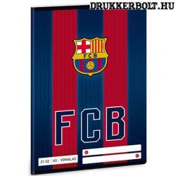 FC Barcelona vonalas füzet A/5 méretben