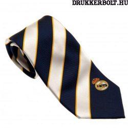 Real Madrid nyakkendő csíkos - eredeti, limitált kiadású klubtermék!